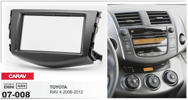 CARAV 07-008 Car Radio Installation Trim Fascia Panel