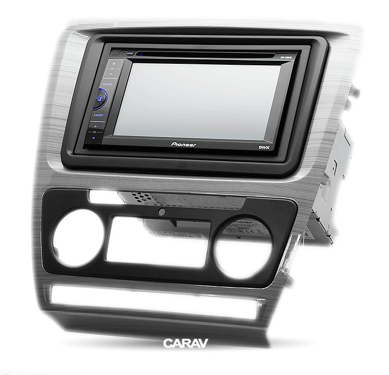 CARAV 11-042 Car Radio Installation Trim Fascia Panel