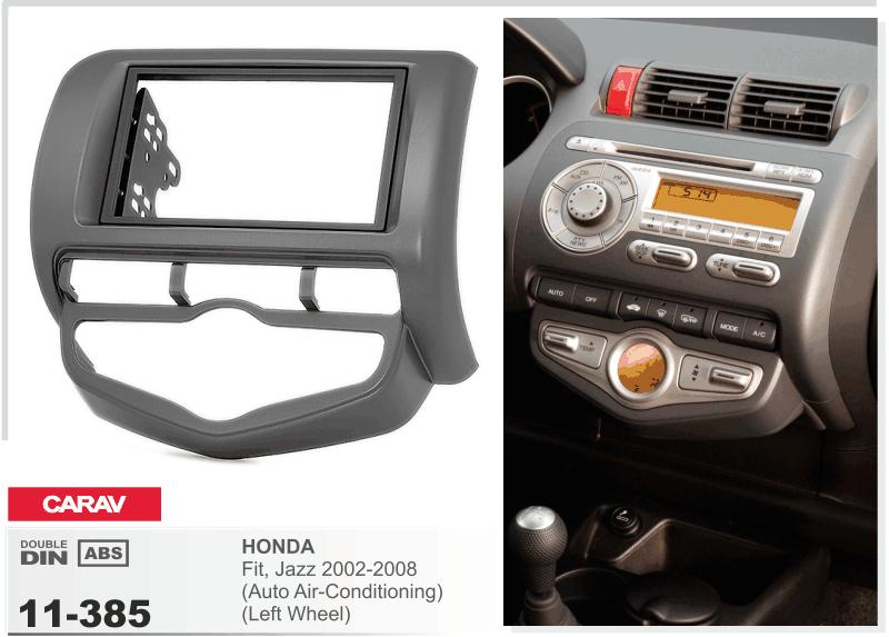 CARAV 11-385 Car Radio Installation Trim Fascia Panel